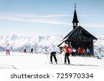 zell am see  austria   march ... | Shutterstock . vector #725970334