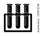 test tube holder icon | Shutterstock .eps vector #725973748