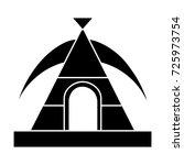 tent icon | Shutterstock .eps vector #725973754