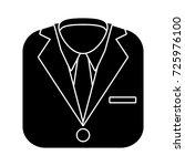 suit icon | Shutterstock .eps vector #725976100