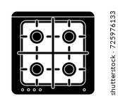four stoves icon | Shutterstock .eps vector #725976133