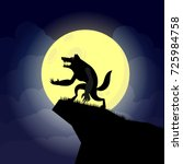 vector illustration of... | Shutterstock .eps vector #725984758