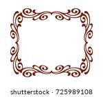 frames vintage.vector... | Shutterstock .eps vector #725989108