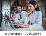 how can i help you  beautiful... | Shutterstock . vector #726010969