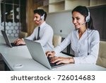 how can i help you  beautiful... | Shutterstock . vector #726014683