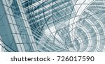 architecture drawing abstract... | Shutterstock . vector #726017590