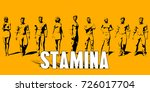 stamina concept with business... | Shutterstock . vector #726017704