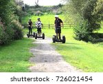 segway   two wheeled  self... | Shutterstock . vector #726021454