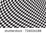 checkered flag. racing flag... | Shutterstock .eps vector #726026188