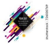 minimalistic design  creative... | Shutterstock .eps vector #726030769