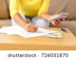 business  finances and people... | Shutterstock . vector #726031870
