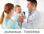 medicine  healthcare  pediatry... | Shutterstock . vector #726033463