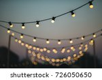 outdoors wedding decoration... | Shutterstock . vector #726050650
