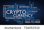crypto currency word tag cloud. ...   Shutterstock . vector #726052510
