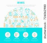 arthritis concept in circle... | Shutterstock .eps vector #726062980