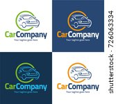 car company logo and icon  ... | Shutterstock .eps vector #726063334