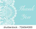 wedding invitation template...   Shutterstock .eps vector #726064300