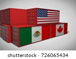 concept of superiority of usa... | Shutterstock . vector #726065434