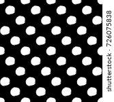 vector seamless pattern. black... | Shutterstock .eps vector #726075838