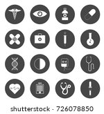 medical icons | Shutterstock .eps vector #726078850