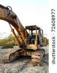 heavy duty construction... | Shutterstock . vector #72608977