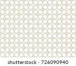 vector geometric seamless... | Shutterstock .eps vector #726090940