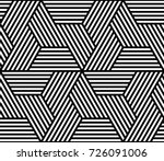 vector geometric pattern.... | Shutterstock .eps vector #726091006
