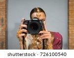 riga  september 2017   a... | Shutterstock . vector #726100540