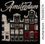 amsterdam   Shutterstock .eps vector #726103174