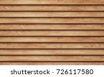 new brown wood planks wall... | Shutterstock . vector #726117580