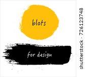 blots for design | Shutterstock . vector #726123748