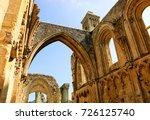 Ruins Of Glastonbury Abbey ...