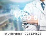 medical. | Shutterstock . vector #726134623