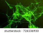 abstract technology and future... | Shutterstock . vector #726136933