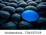different  unique and standing... | Shutterstock . vector #726137119