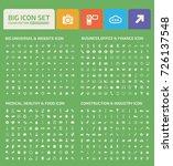big icon set vector | Shutterstock .eps vector #726137548