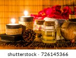 body washing aroma gel with... | Shutterstock . vector #726145366