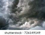 Dark Sky And Dramatic Black...