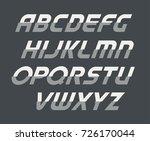 sport uppercase alphabet.... | Shutterstock .eps vector #726170044