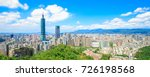 morning taipei city panorama in ... | Shutterstock . vector #726198568