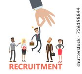 recruitment concept... | Shutterstock .eps vector #726198844
