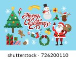 funny christmas stickers. santa ...