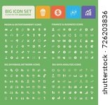 big icon set vector | Shutterstock .eps vector #726203836