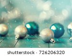 abstract christmas background ... | Shutterstock . vector #726206320