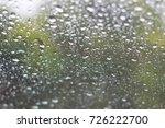 water drop on glass   Shutterstock . vector #726222700