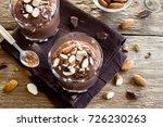 healthy raw vegan chocolate... | Shutterstock . vector #726230263