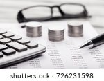 finance concept. | Shutterstock . vector #726231598