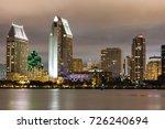 long exposure capture of san... | Shutterstock . vector #726240694