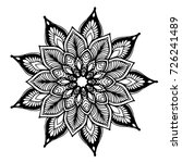 mandalas for coloring book.... | Shutterstock .eps vector #726241489