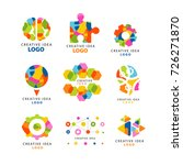 creative idea logo  abstract... | Shutterstock .eps vector #726271870